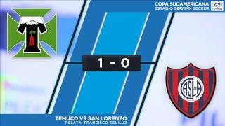 #ConclaveEnLaCancha Copa Sudamericana | Temuco 1-0 San Lorenzo - Relata Francisco Eguiluz