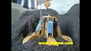 STEMM Orange Peel Motor Grab for Biomass