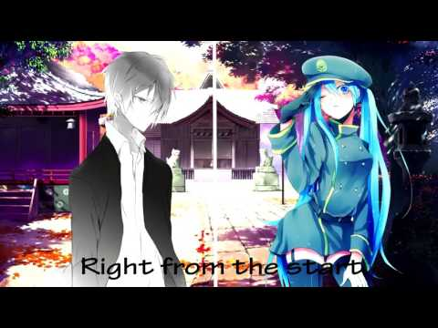 Just give me a reason by nightcore switch vocals