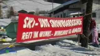 Reit im Winkl (Bayern) im Winter zum Skifahren
