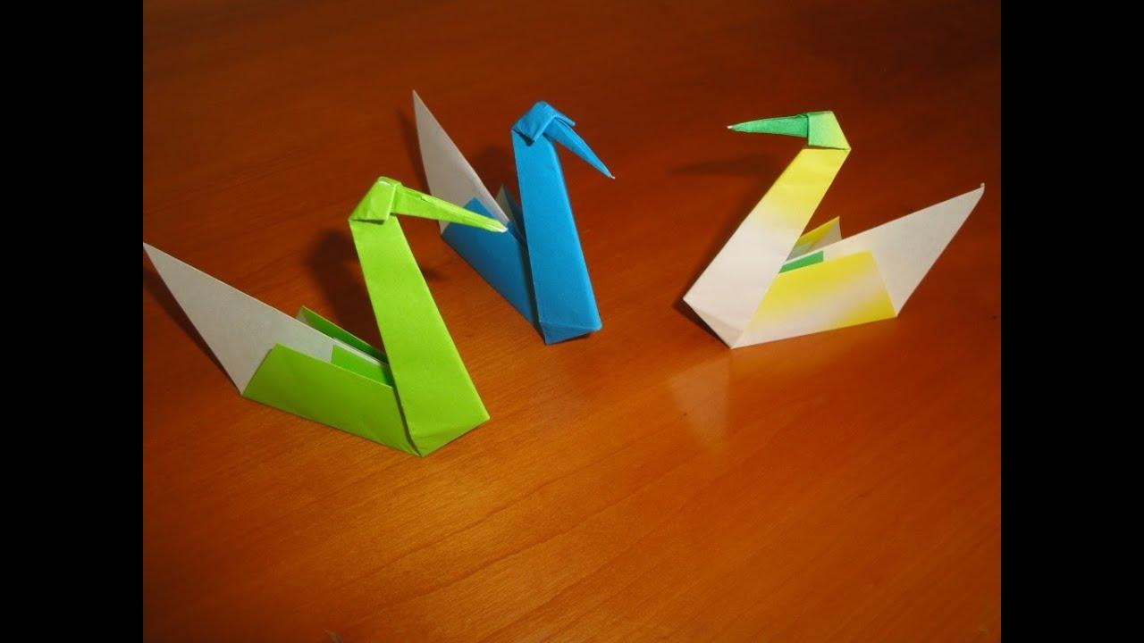 duck origami pato de origami youtube