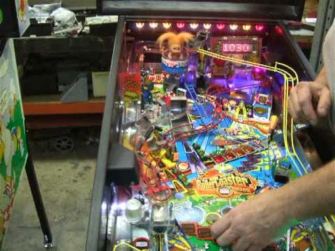 Download #109 Stern ROLLER COASTER TYCOON Pinball Machine!  Another One!  TNT Amusements