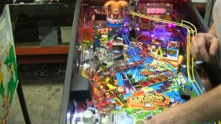 #109 Stern ROLLER COASTER TYCOON Pinball Machine!  Another One!  TNT Amusements