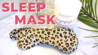 DIY Satin Sleep Mask | Last Minute Gifts