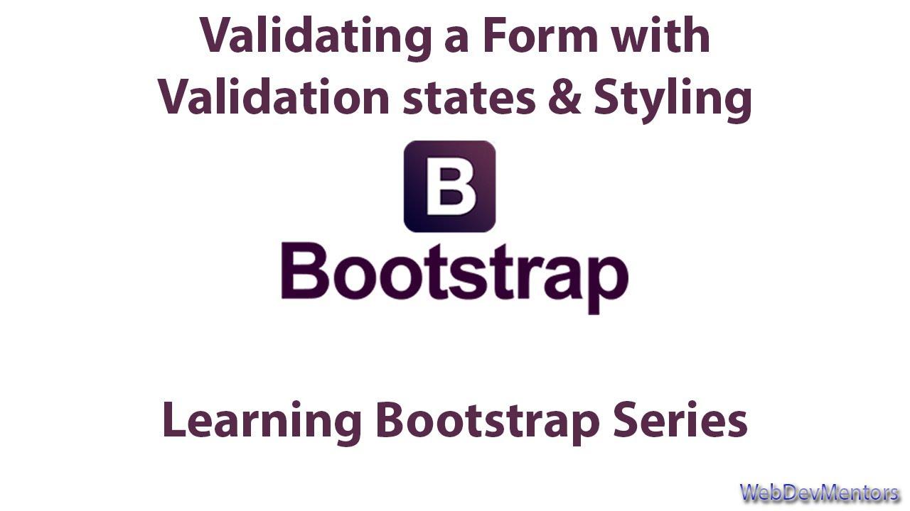 Validating form with javascript applying validation states validating form with javascript applying validation states styling in bootstrap falaconquin
