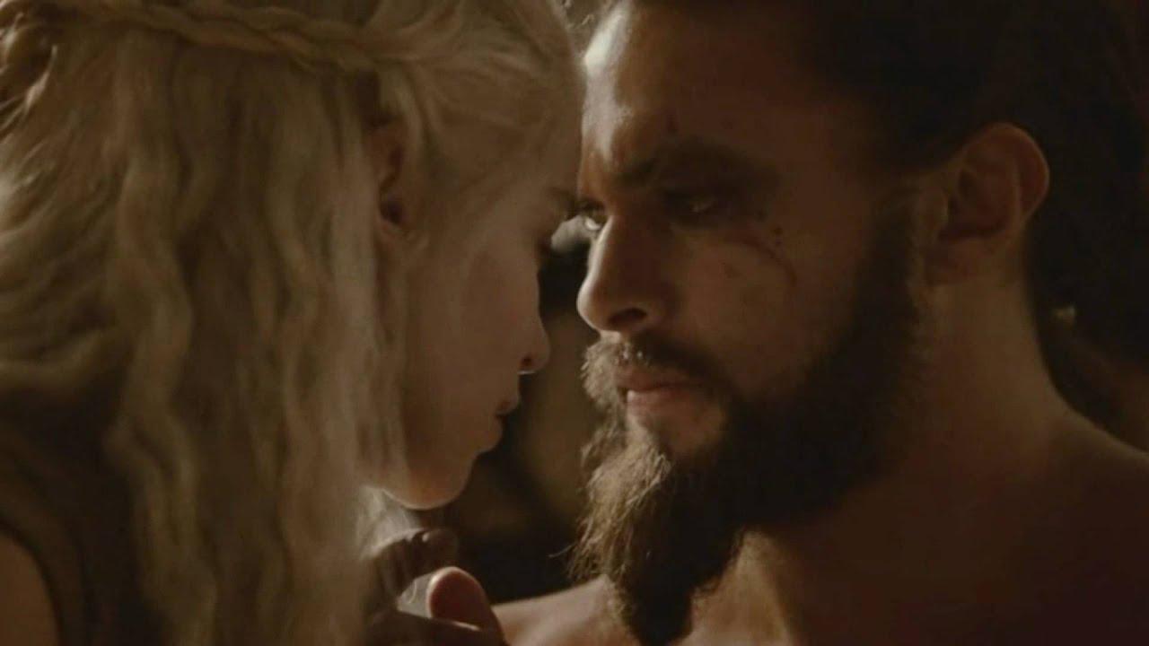 Daenerys targaryen and khal drogo wallpaper daenerys targaryen wedding - Www Enveeus Com Drogo Daenerys My Favourite Scene Game Of Thrones S2 Youtube