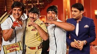 Ravi Kishan, Manoj Tewari & Niruaha on Comedy Nights with Kapil 8th February 2014 FULL EPISODE