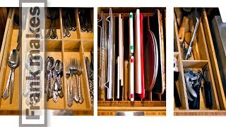 Making Kitchen Drawer Organization