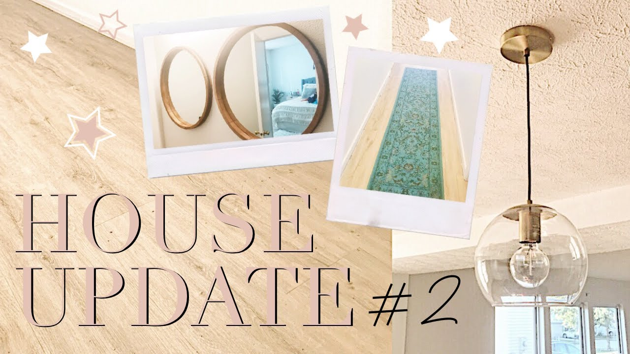 House Update #2: New Floors, Lights & Mirrors | Abby Saylor Armbruster