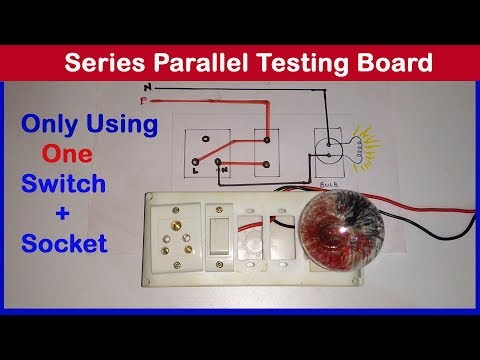 Series Parallel Testing Board Connection In Hindi Very