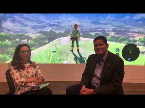 Katie Linendoll chats with Nintendo President and COO Reggie Fils-Aime on Nintendo Switch