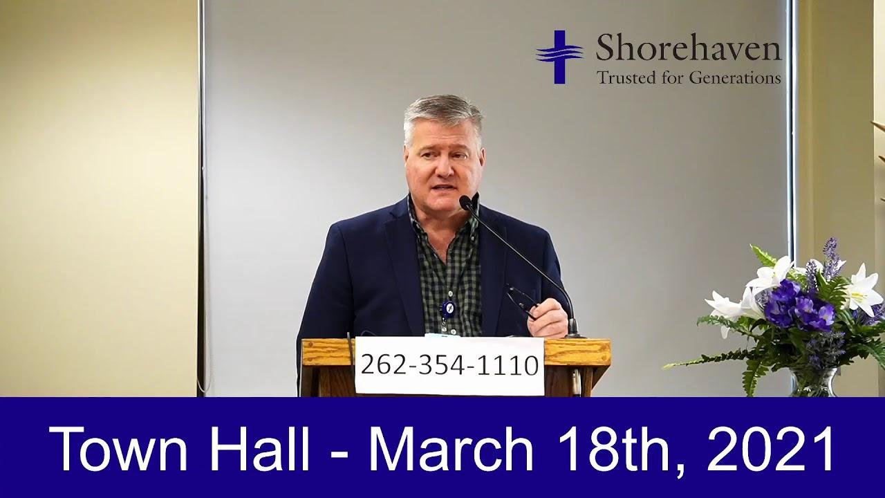 Town Hall 3-18-21