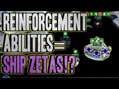 SWGOH : Reinforcement Abilities = Ship Zetas? Interview with CG Devs!