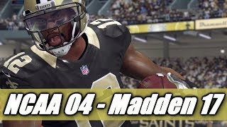 Marques Colston Through The Years - NCAA Football 2004 - Madden 17