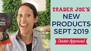 My Sept 2019 Healthy Trader Joes Grocery Shopping Haul