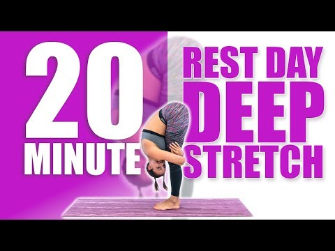 20 Minute Rest Day Deep Stretch!