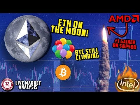 🔴 BITCOIN LIVE 🔴 AMD MAJOR BREAKOUT, ETH MOONING – Ep.1062 – Crypto Technical Analysis
