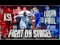 KSI PUNCHED LOGAN PAUL AT PRESS CONFERENCE (Highlights)