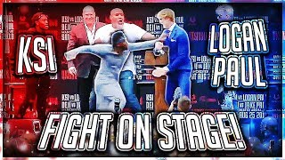 KSI PUNCHED LOGAN PAUL AT PRESS CONFERENCE (Highlights) thumbnail