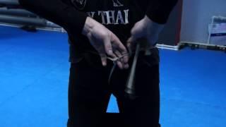 Тайский бокс завязка бандажа