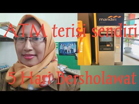 5 Hari Bersholawat, ATM terisi sendiri . Ibu Sri Menangis Terharu