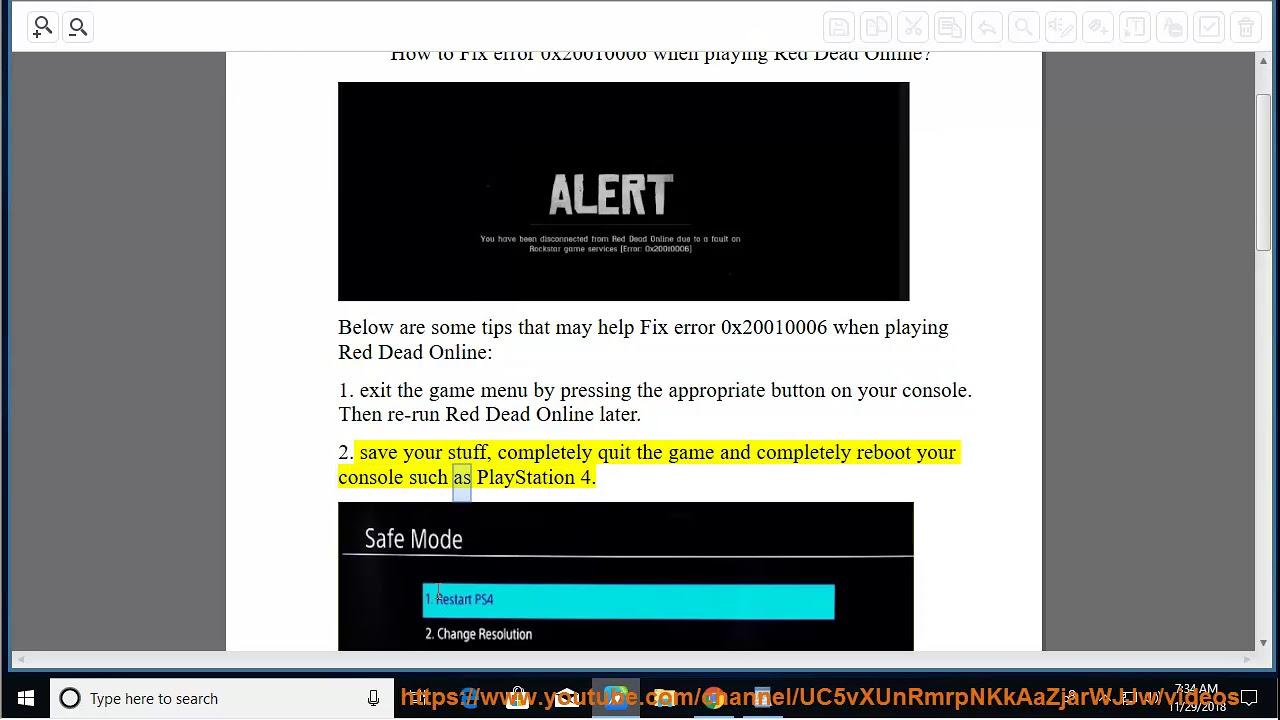 Fix error 0x20010006 when playing Red Dead Online