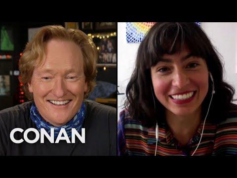 #CONAN: Melissa Villaseñor Full Interview - CONAN on TBS