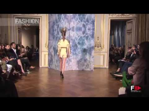 """""""ALEXIS MABILLE"""" Paris Haute Couture Autumn Winter 2014 Full Show HD by Fashion Channel"""