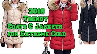 Trendy Fashion Down Coats & Jackets 2018 for Extreme Cold