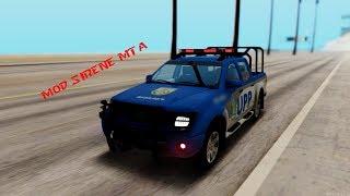 Mod Sirene MTA V3 - Super leve não laga nada