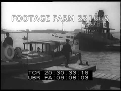 Egypt, Port Said & Suez Canal Entrance 221668-04 | Footage Farm