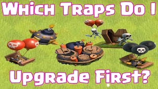 Clash Of Clans What Defenses To Upgrade First Traps Edition | Which Defenses To Upgrade Next