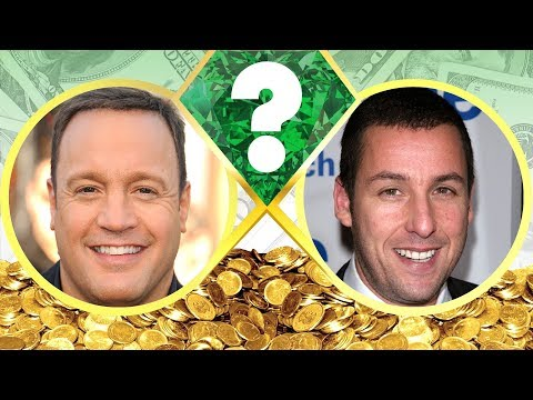 WHO'S RICHER? - Kevin James or Adam Sandler? - Net Worth Revealed! (2017)