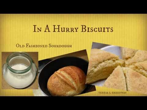 Sourdough Biscuits in a Hurry - Mix Dry Ingredients 1