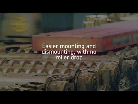 SKF spherical roller bearings for continuous casters