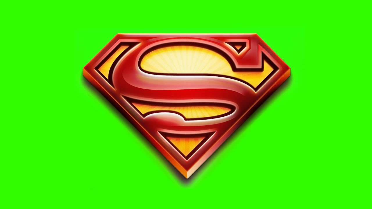 Superman logo fps green screen effects backgrounds youtube superman logo fps green screen effects backgrounds voltagebd Choice Image