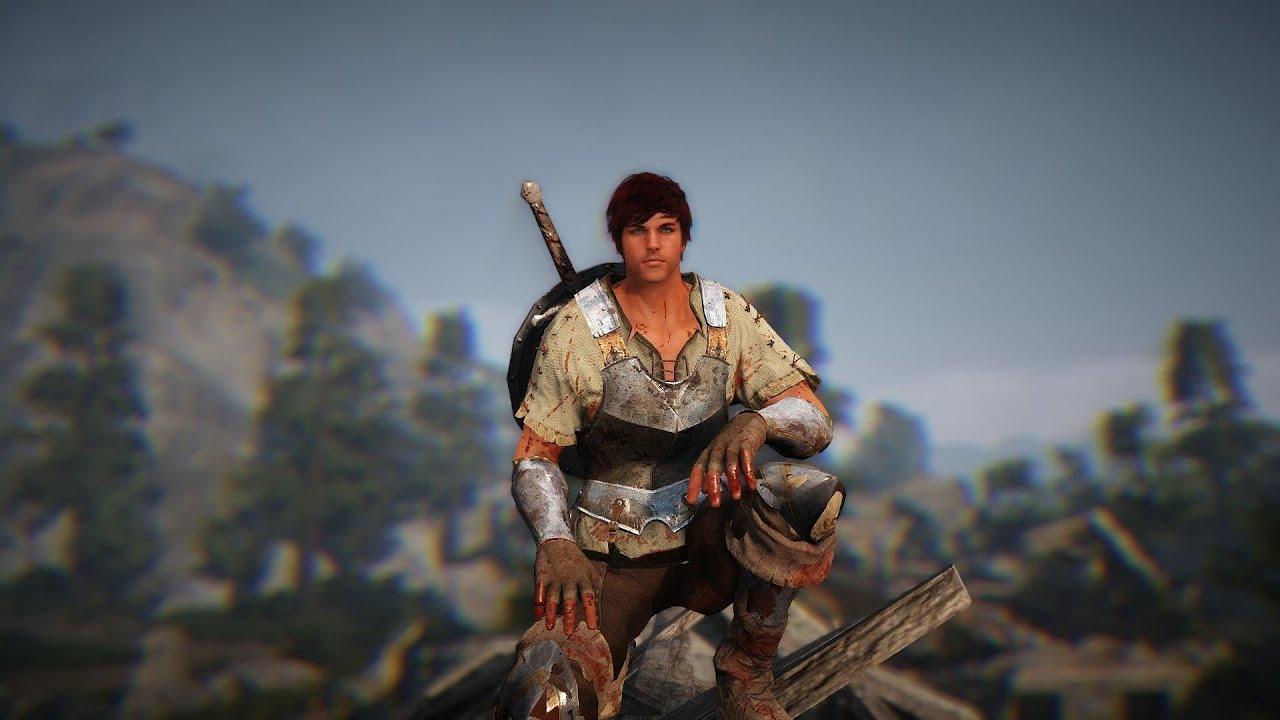 Black Desert Online Final Test Warrior Level 25 Gameplay ...