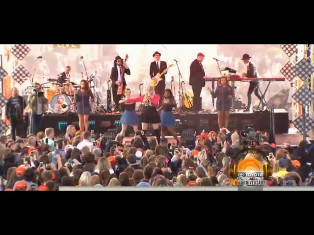 Meghan Trainor • 02 • All About That Bass - LIVE TODAY SHOW 2015
