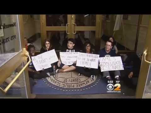 NJ Students Hold Sit-In To Protest School District