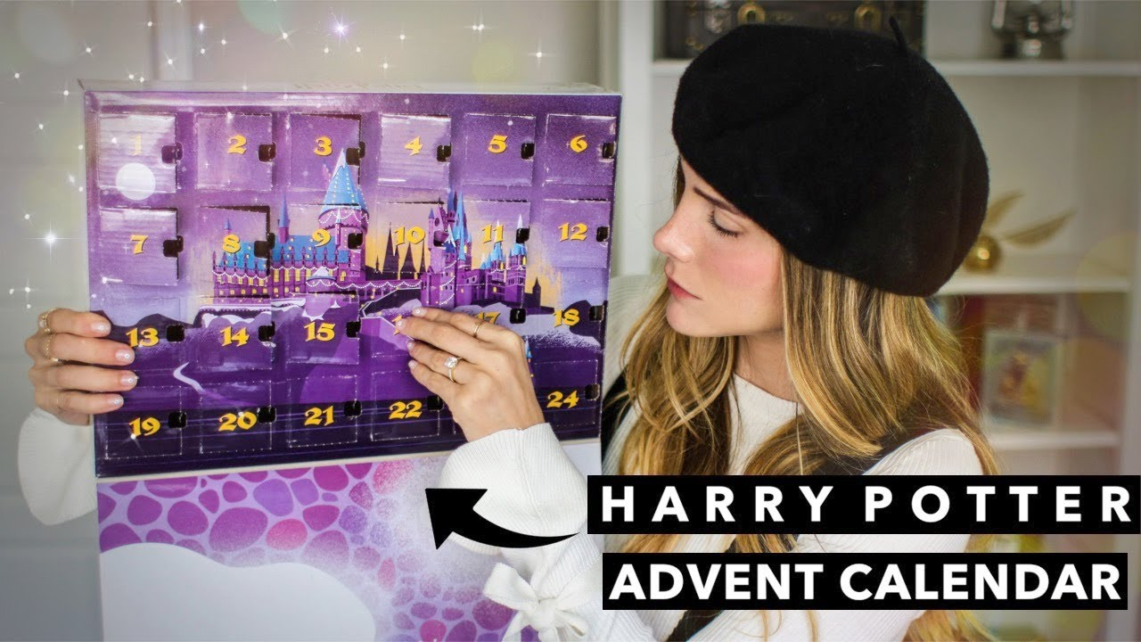 Harry Potter Advent Calendar.Harry Potter Advent Calendar Unboxing Funko Pop