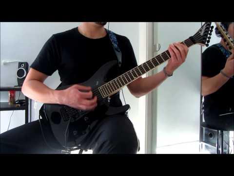 CARCASS -  Blackstar (guitar cover)