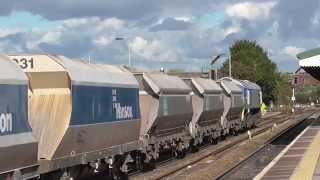 59002 Alan J DAY with Whatley to Dagenham loaded stone train