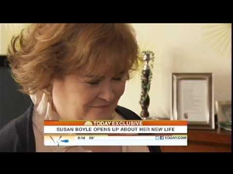"Susan Boyle ""Exclusive Interview"" Today Show ~ Blackburn, Scotland (w/Ads) (18 Oct 11)"