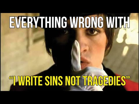 "Everything Wrong With Panic! At The Disco - ""I Write Sins Not Tragedies"""