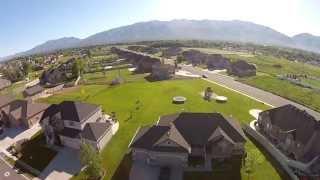 Aerial Video: 5 Bedroom 3 Bath 2-story Home For Sale In Kaysville Utah