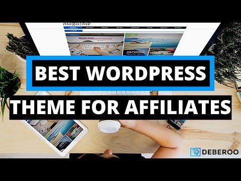 Best Wordpress Theme For Affiliate Marketing