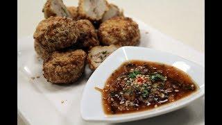 Chicken And Water Chestnut Parcels | Sanjeev Kapoor Khazana