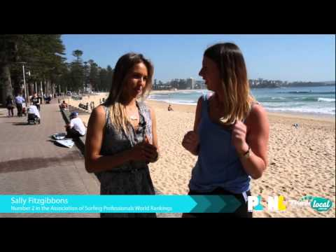 Sally Fitzgibbons On 2015 Australian Open Of Surfing At Manly