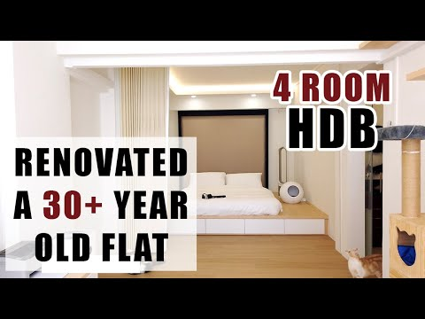 House Tour Part 2 Transformation Singapore Resale Flat 4 Room Hdb Renovation Youtube
