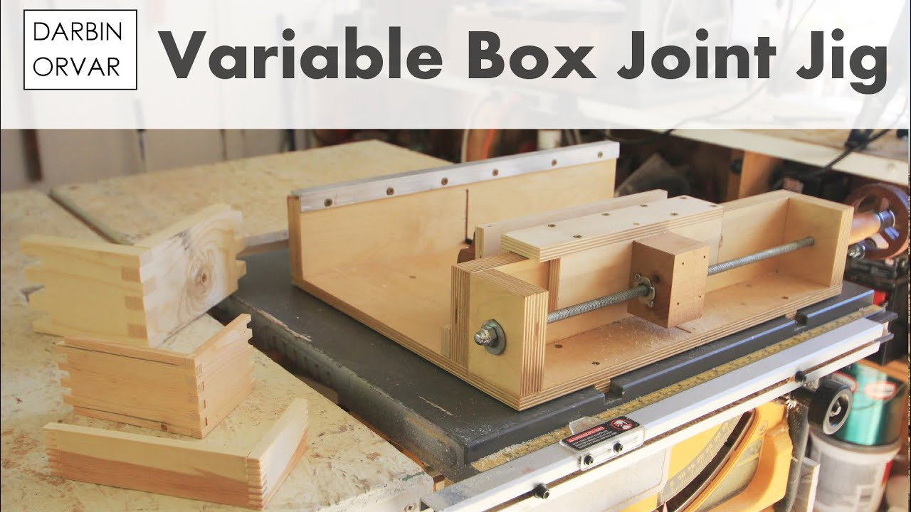 How To Make a Box Joint Jig - YouTube